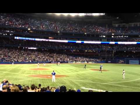 Jose Bautista 3-Run HR: June 3, 2012