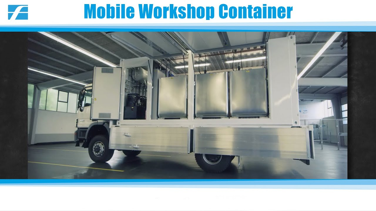 Mobile Workshop Mobile Workshop Container For