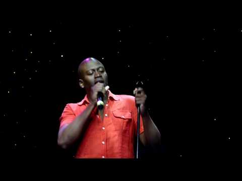 Tituss Burgess sings Get Here on the R Family Alaska cruise