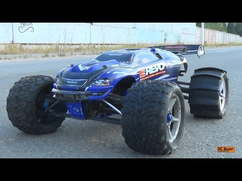 Обзор Traxxas E-Revo Brushless