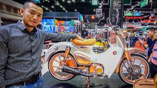 Chiếc Honda Cub phong cách Phúc XO này giá 200 triệu có gì mà đắt vậy?