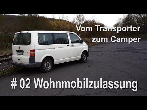 VW T5 vom Transporter zum Vanlife Camper  Umbau Wohnmobilzulassung TÜV Planung  #002