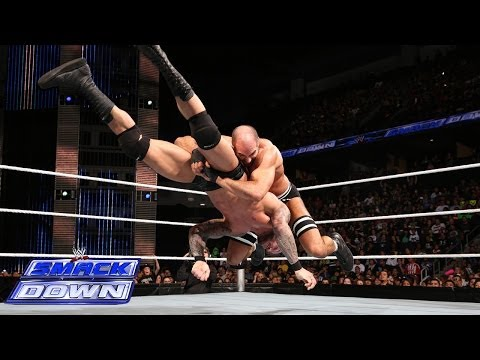 Cesaro Vs. Randy Orton: Smackdown, Feb. 14, 2014 video