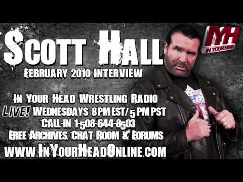 Scott Hall Shoot Interview - story about Bret Hart's house being a shrine to the Hitman