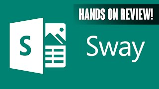 Microsoft Sway Hands On Review!