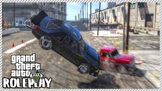 GTA 5 ROLEPLAY - Head on Dragster Collision | Ep. 264 Civ