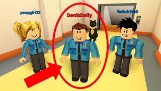PRISONER PRETENDS TO BE A POLICE OFFICER! - Roblox Jailbreak Prank