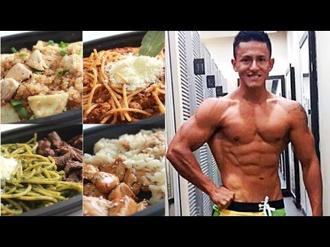 DIETA PARA DEFINICION | Comida Por Comida | Abdominales Marcados
