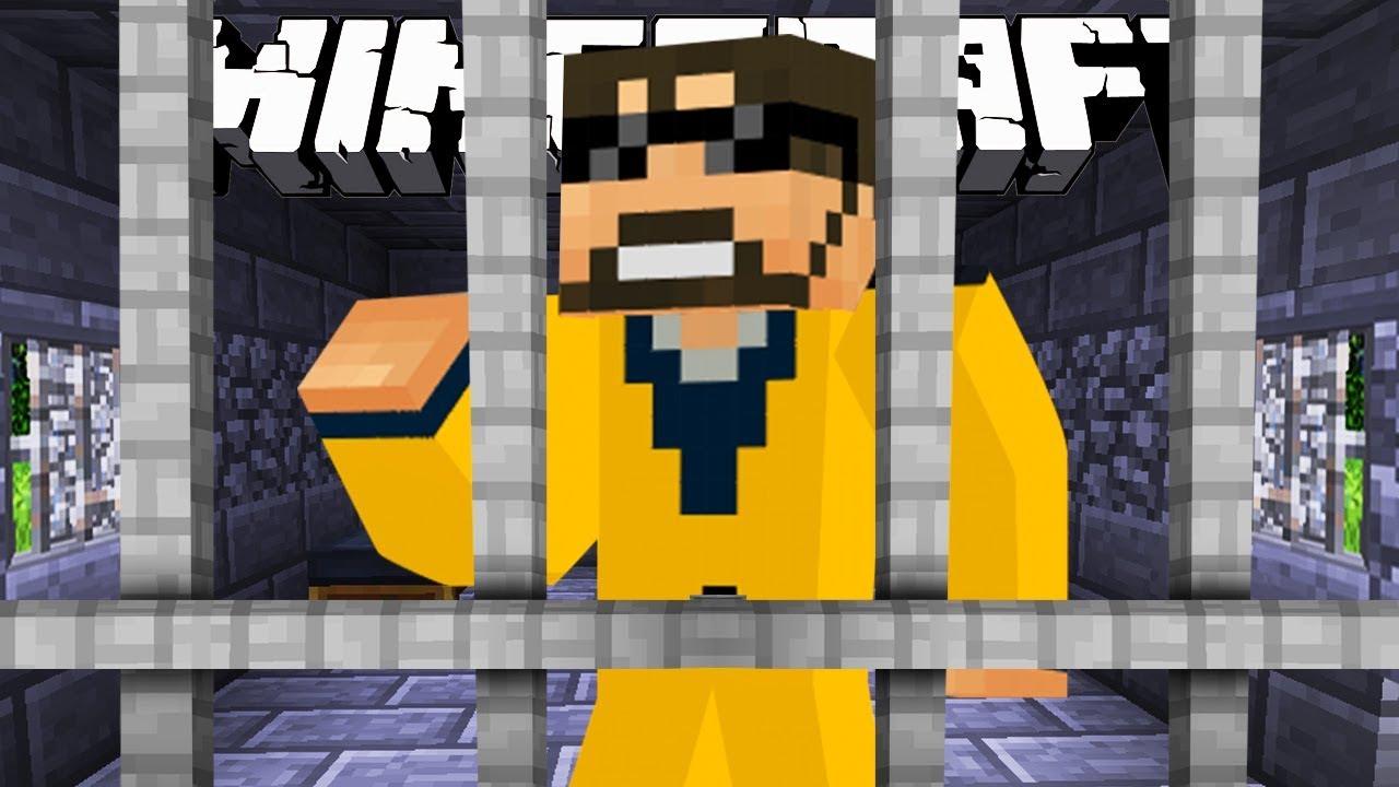 Minecraft: JAIL BREAK   DIAMOND PICKAXE?! #2