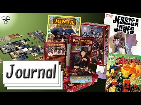 Spiele Journal 01.07.2016 News rund um Brettspiele, Comics, P&P und Tabletop