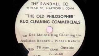 Watch Eddie Lawrence The Old Philosopher video