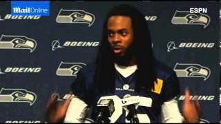 Richard Sherman  Thug is another way of saying the