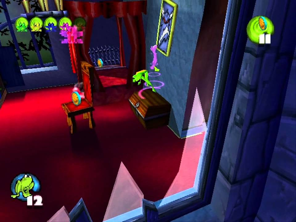 Frogger 2: Swampy's Revenge (PS1) - Level 15 - Haunted House (PL ...