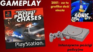 Gameplay (PL) - World's Scariest Police Chases (PlayStation)