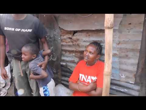 Poorest in the world. Biggest Slum in the World. Time to Act, Nairobi, Kenya July 2014