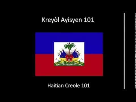 Learn Haitian Creole- Creole 101 (lesson one)