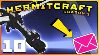 HermitCraft 5 | Ep 10 | UNFORGETTABLE DRAGON FIGHT! (SERIOUSLY INSANE!!) | Minecraft Vanilla 1.12
