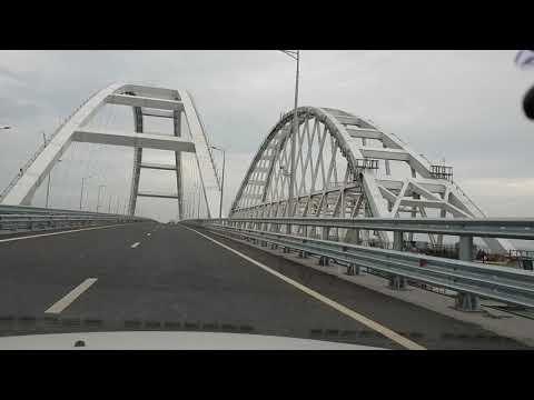 Крымский мост. Месяц после открытия. Сколько людей едет в Крым