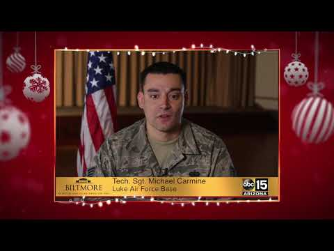 Military Greetings: Tech Sgt. Michael Carmine
