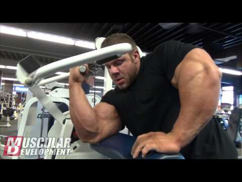 IFBB Pro Justin Compton Trains Back And Biceps
