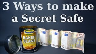 3 Ways to Make a Secret Safe