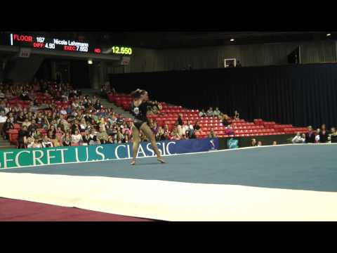 Amelia Hundley -- Floor -- 2012 U.S. Secret Classic