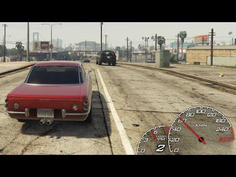 GTA 5 Speedometer Mod (LeFix Customizable)