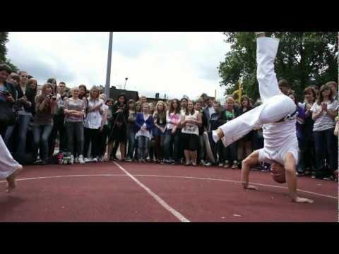 Pokaz Dla X LO W Katowicach, Capoeira Camangula