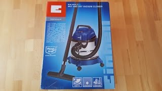 Einhell BT-VC 1215S Wet and Dry Vacuum Cleaner / Nass- und Trockensauger - [Unboxing! 4K]