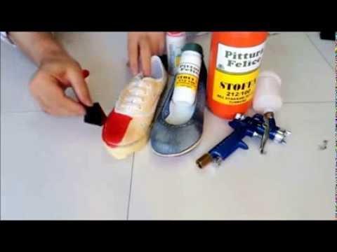 Bez ayakkabı nasıl boyanır?