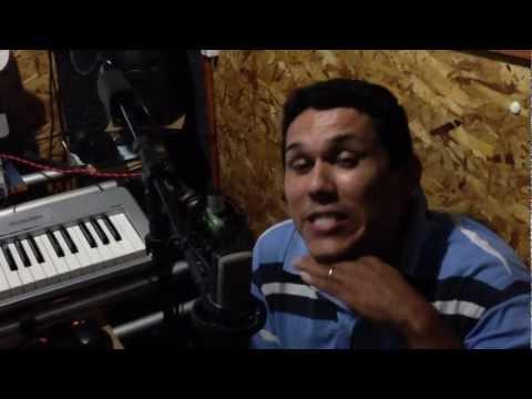 Cicero Oliveira Barquinho no Estudio do Felipe Mesquita