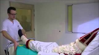 Deel 1 de sint in het ziekenhuis