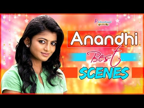 Anandhi Best Scenes | Super hit Tamil Movies | Trisha Illana
