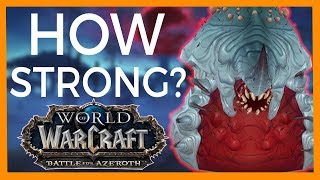 How Powerful is G'huun? - World of Warcraft Lore