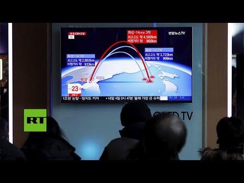 Corea del Norte  realiza nueva prueba de misil balístico