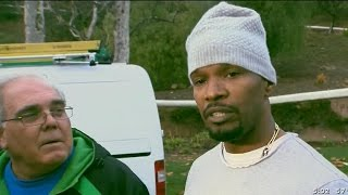 Jamie Foxx rescues driver from burning vehicle