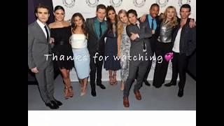 The Vampire Diaries and The Originals cast edit.
