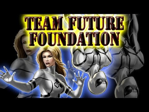 Marvel Avengers Alliance PVP Teams - Team Future Foundation   Version One