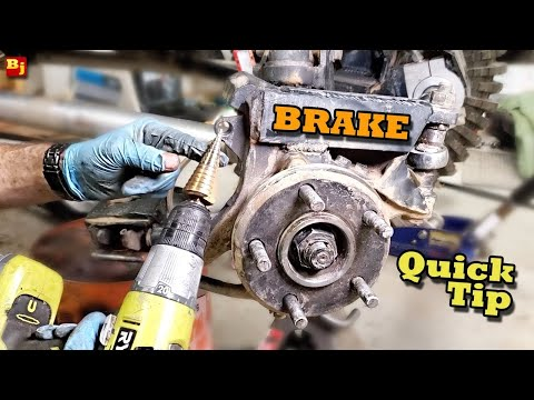 Brake or Stripped Bolt Quick Tip