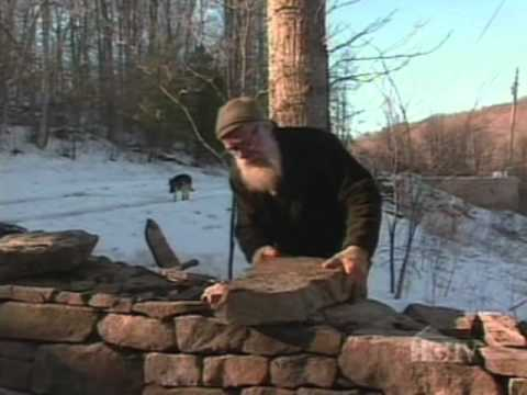 how to build an irish stone fence
