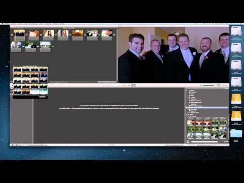 Tutorial Mac Español: creando presentación de fotos en iMovie 11