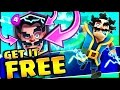 GET A FREE ELECTRO WIZARD!!! •  Clash Royale
