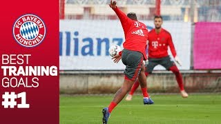 FC Bayern BEST Training Goals!