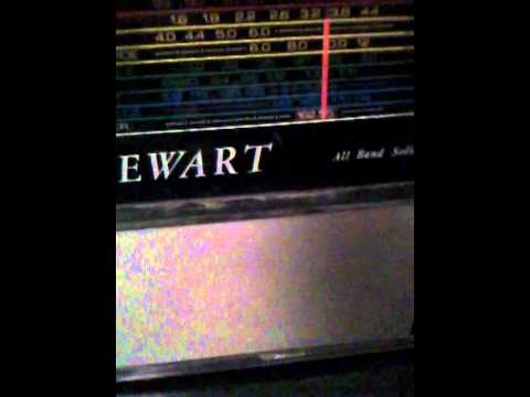 My Stewart All Band Solid State police scanner/weather radio/marine radio
