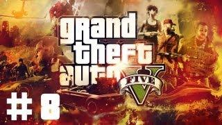 [PS3] Zagrajmy w GTA V #8 - Lawetą po mieście