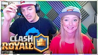 IT DIDN'T GO WELL... Clash Royale 2v2 Nick & Kelly