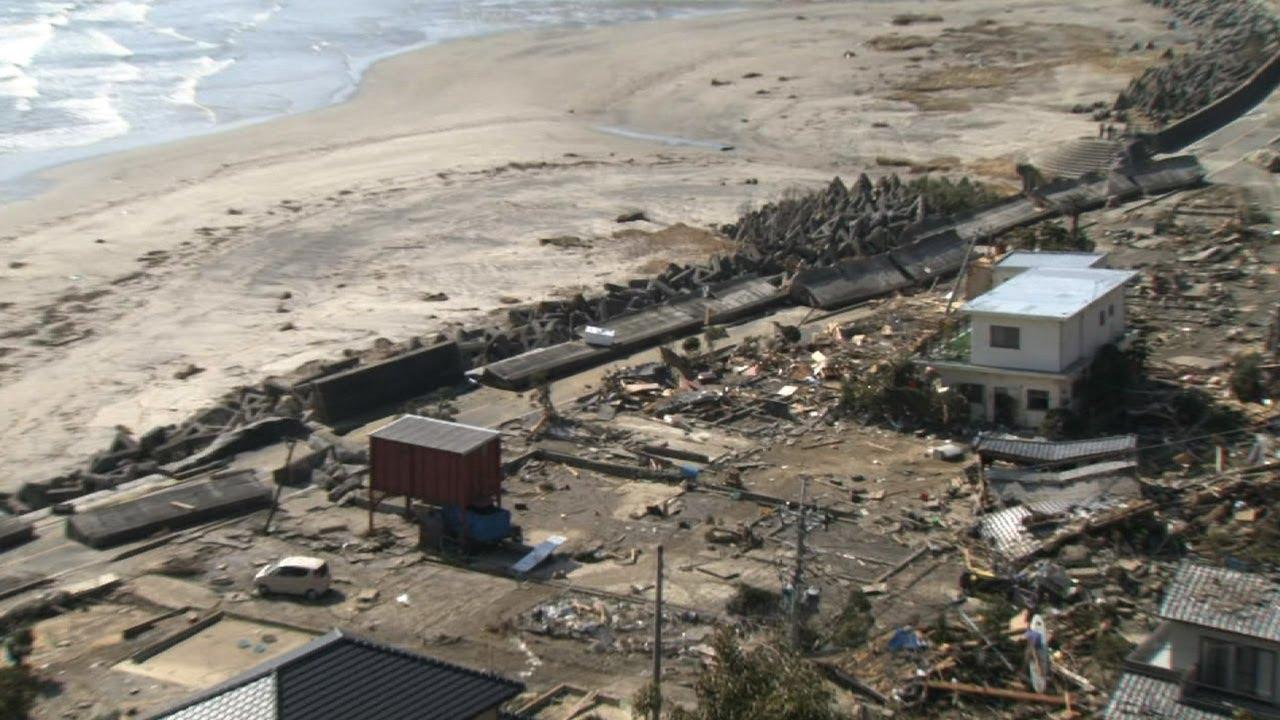 大きな被害を受けた いわき市 [震災3日目] - YouTube