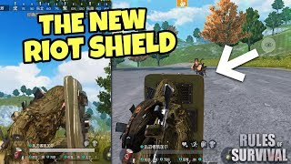 New Riot Shield and More Upcoming Updates! Rules of Survival