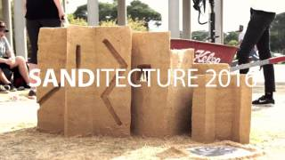 It's a beach vibe.. but it's architecture: Sanditecture!