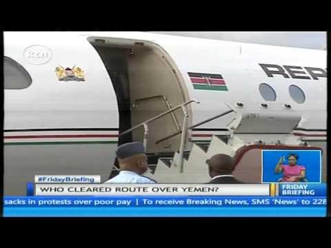 President Uhuru Kenyatta cancels his US tour as his flight to Dubai is turned back
